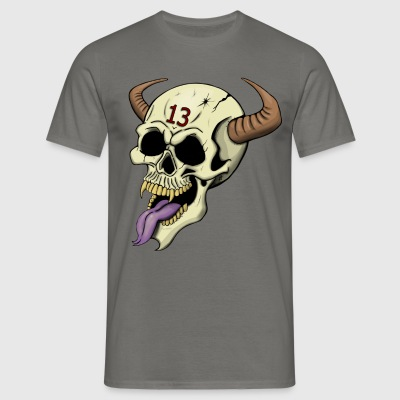 Demon Skull - Men's T-Shirt
