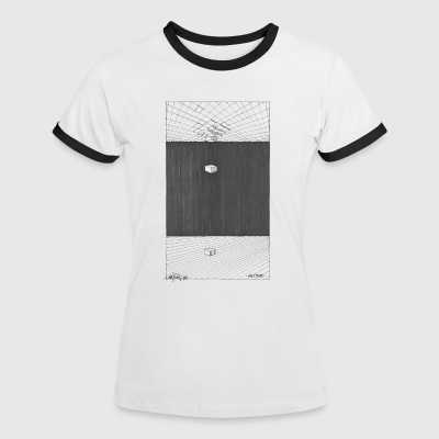 ALONE T-Shirts - Women's Ringer T-Shirt