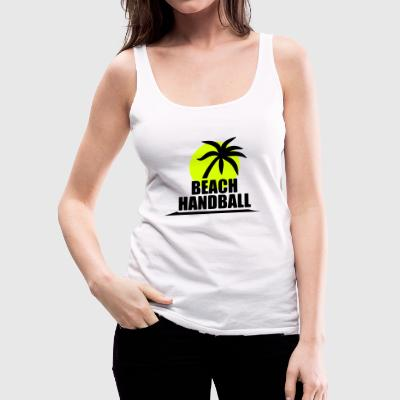 Beachhandball - Handball T-Shirt Tops - Frauen Premium Tank Top