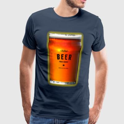Chilled Beer T-Shirt - Men's Premium T-Shirt