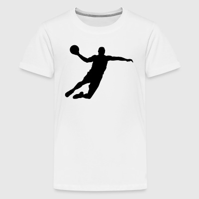 Handball T-Shirt - Handballer Shirt - Ball T-Shirts - Teenager Premium T-Shirt