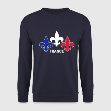 Fleurs de Lys Sweat-shirts - Sweat-shirt Homme
