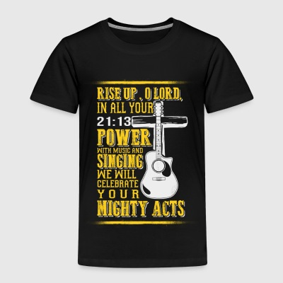 Praying Lord Guitar - EN Shirts - Kids' Premium T-Shirt