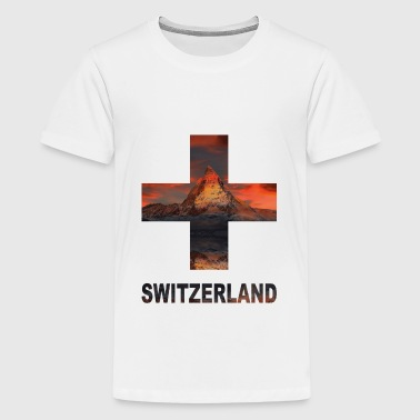 Schweiz  - Teenager Premium T-Shirt