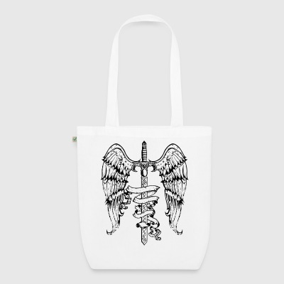 sword_wings Bags & Backpacks - EarthPositive Tote Bag
