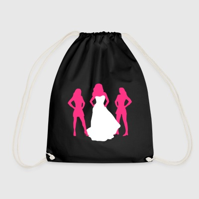 Bride, hen party, bachelorette party Bags & Backpacks - Drawstring Bag