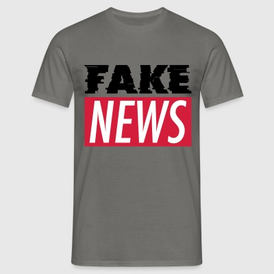 FAKE NEWS T-Shirts - Männer T-Shirt
