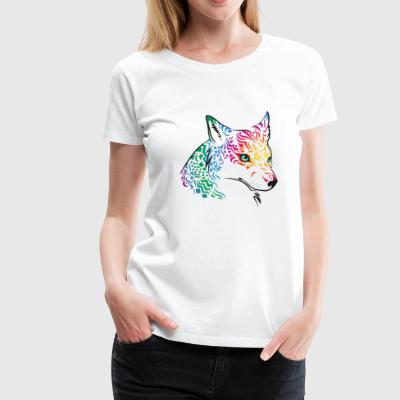 spiritwolf - Frauen Premium T-Shirt