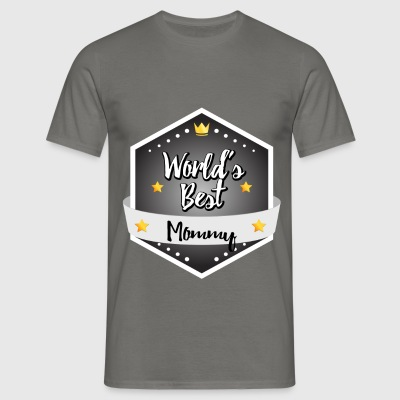 Mommy - World's best Mommy - Men's T-Shirt