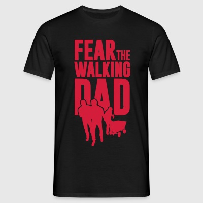 Fear the walking Dad, Vatertag. Bollerwagen Tour T-Shirts - Männer T-Shirt