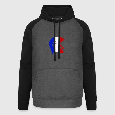 Guerrier Français Sweat-shirts - Sweat-shirt baseball unisexe