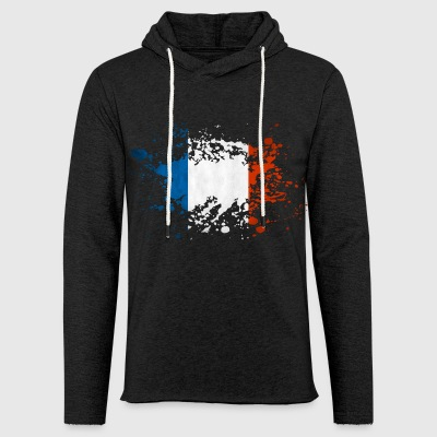 france eclaboussure Sweat-shirts - Sweat-shirt à capuche léger unisexe