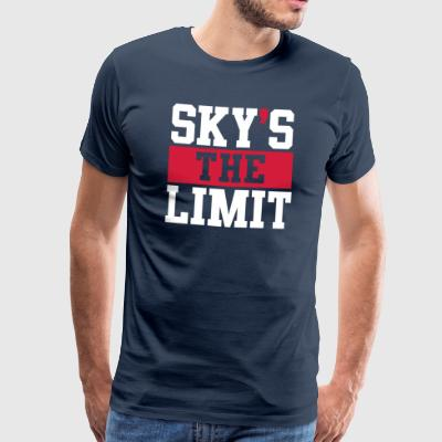 Sky´s the Limit - Männer Premium T-Shirt