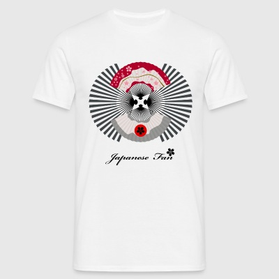 Japanese Fan - Men's T-Shirt