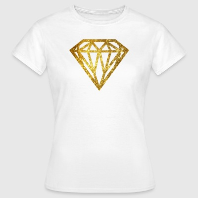 Diamond - diamond T-skjorter - T-skjorte for kvinner