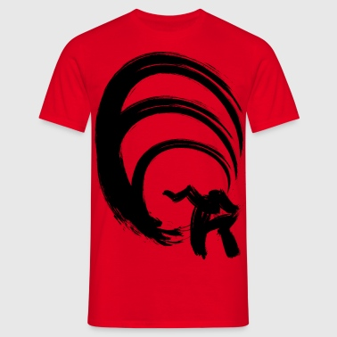 Red Wave - T-shirt Homme