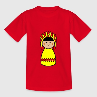 Kids Native American Design Tshirt - Kids' T-Shirt