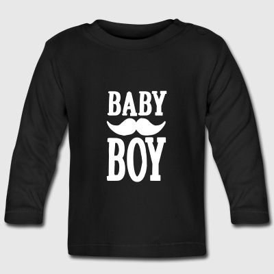 Baby boy hipster Baby Long Sleeve Shirts - Baby Long Sleeve T-Shirt