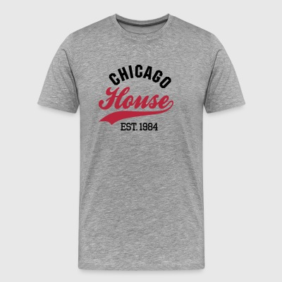 Chicago house est. 1984 T-Shirts - Men's Premium T-Shirt