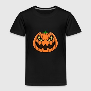 Pumpkin Face Shirts - Kids' Premium T-Shirt