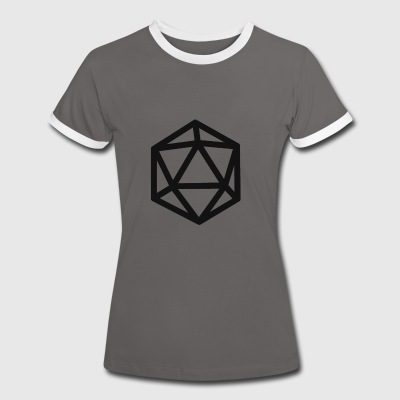 RPG magic dice - T-shirt contraste Femme