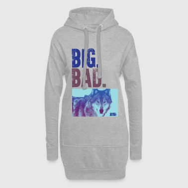 Animal Planet Big Bad Wolf Quote - Hoodie Dress