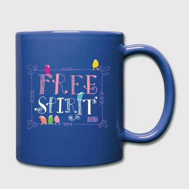 Animal Planet Free Spirit Vögel - Tasse einfarbig