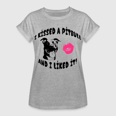 I kissed a Pitbul T-Shirts - Frauen Oversize T-Shirt