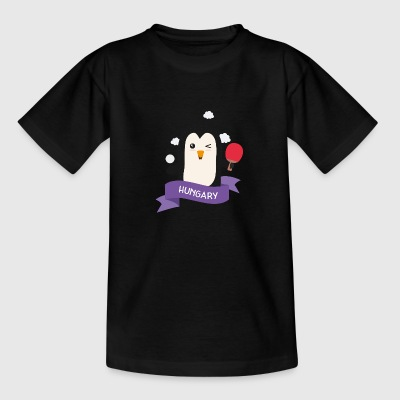 Penguin table tennis from HUNGARY S621na Shirts - Teenage T-shirt