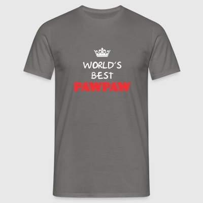 Pawpaw - World's best Pawpaw - Men's T-Shirt