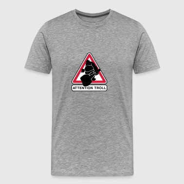 Attention troll Tee shirts - T-shirt Premium Homme