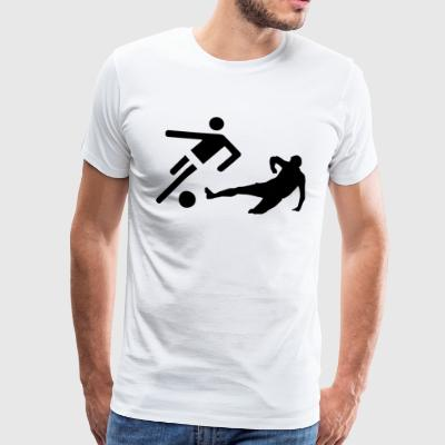 Stirch- vs footballers T-Shirts - Men's Premium T-Shirt