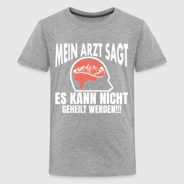 MEIN ARZT Berg  T-Shirts - Teenager Premium T-Shirt