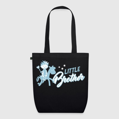 Little brother - big brother - siblings - baby Bags & Backpacks - EarthPositive Tote Bag