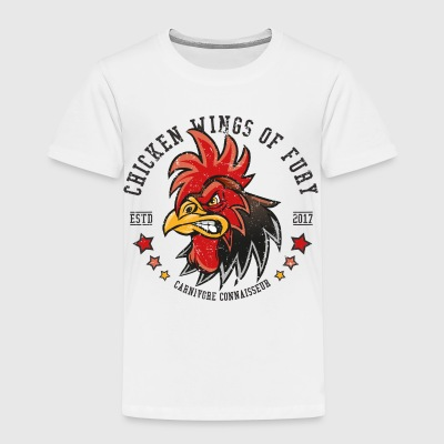 Chicken Wings of Fury - Cooles Vintage Grillshirt - Kinder Premium T-Shirt