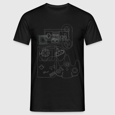 Video Game Controllers - Men's T-Shirt