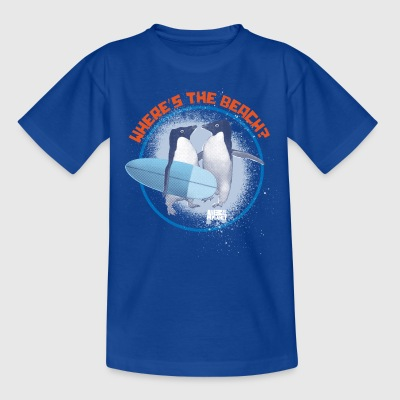 Animal Planet Pinguine Where's the beach? - Kinder T-Shirt