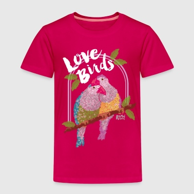 Animal Planet Lovebirds Parrots - Kids' Premium T-Shirt