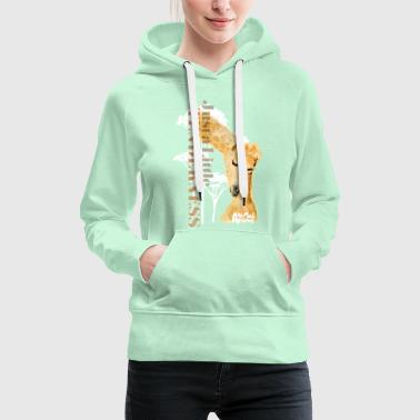 Animal Planet Giraffes Just a little Tenderness - Women's Premium Hoodie