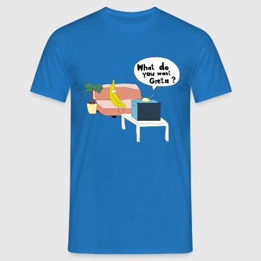 What do you want? - T-shirt Homme