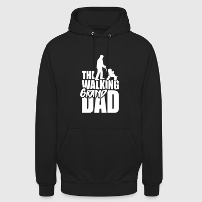 The walking grandad 1clr Sweat-shirts - Sweat-shirt à capuche unisexe