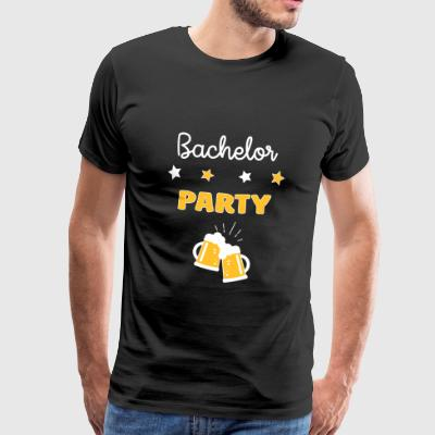 Bachelor Party EVG Stag Party Wedding - Marriage T-Shirts - Men's Premium T-Shirt