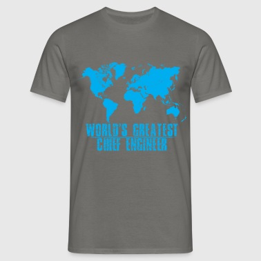 Chief Engineer - World's Greatest Chief Engineer - Men's T-Shirt