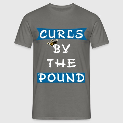 Curls - Curls by the pound - Men's T-Shirt