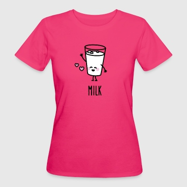 Milk - Best friends forever (BFF) T-Shirts - Frauen Bio-T-Shirt