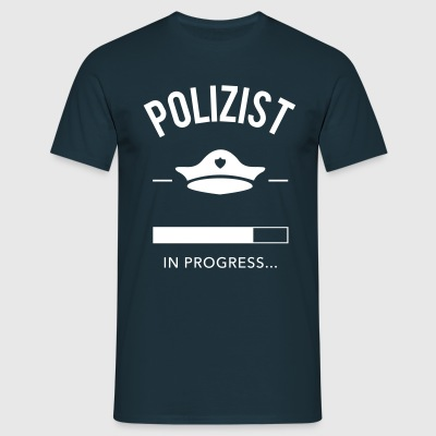 Polizist in progress - Männer T-Shirt