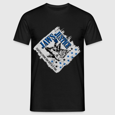 K-9 Unit  Jaws of Justice T-Shirts - Men's T-Shirt