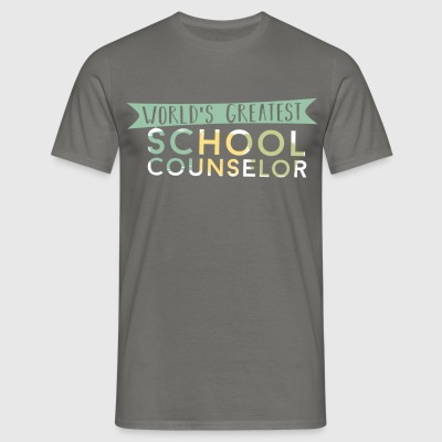 School Counselor - World's greatest School Counsel - Men's T-Shirt