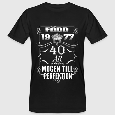 SE perfection - 2017 - 1977-40 ans Tee shirts - T-shirt bio Homme