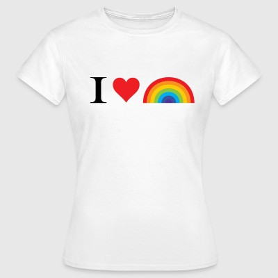 I Love Lgbt T-Shirts - Women's T-Shirt